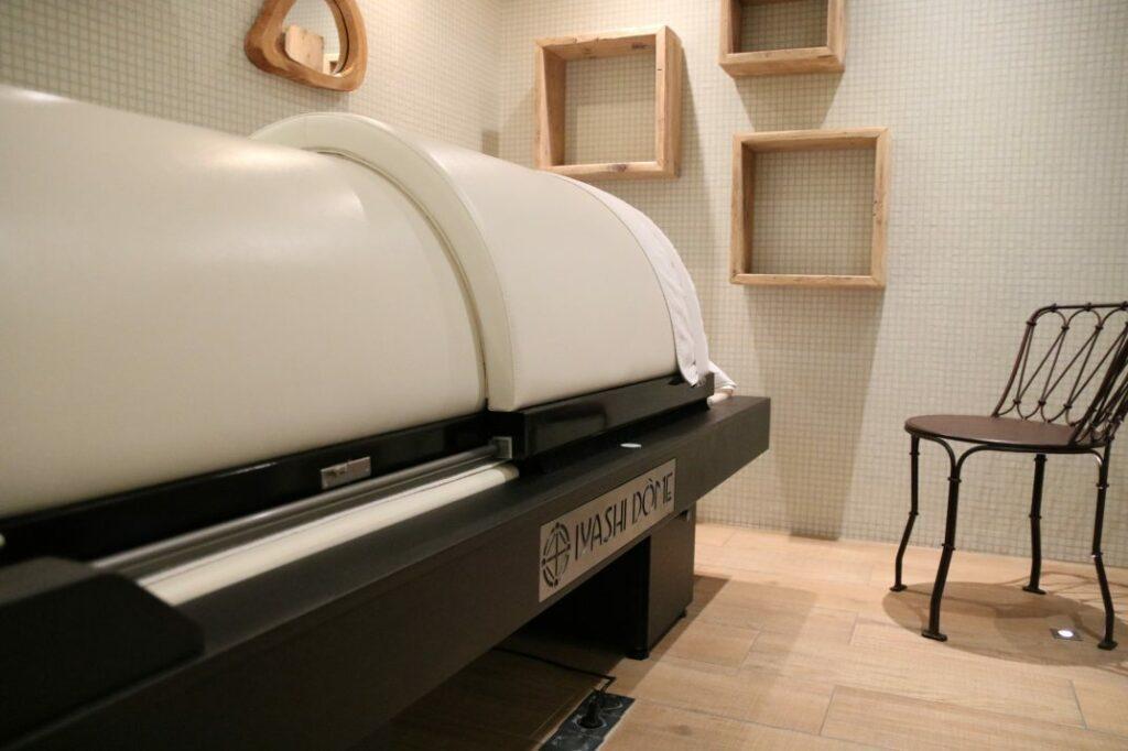 SR Mazarine – J'ai testé le Iyashi Dôme (sauna japonais)